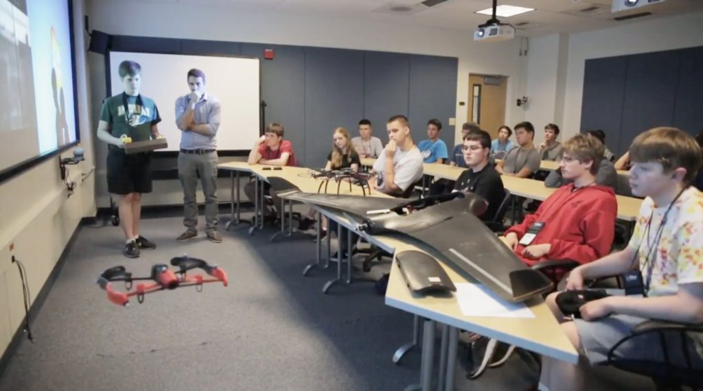 Introduction to Engineering Summer Camp at UNR